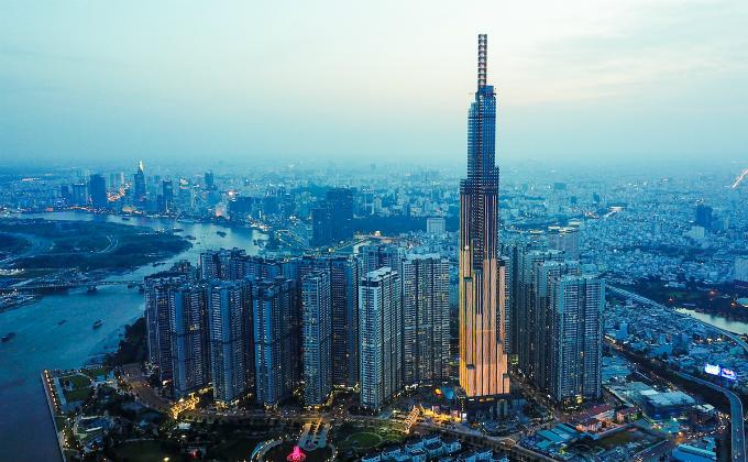 Saigons bird eye view from the tallest building in Vietnam - 11