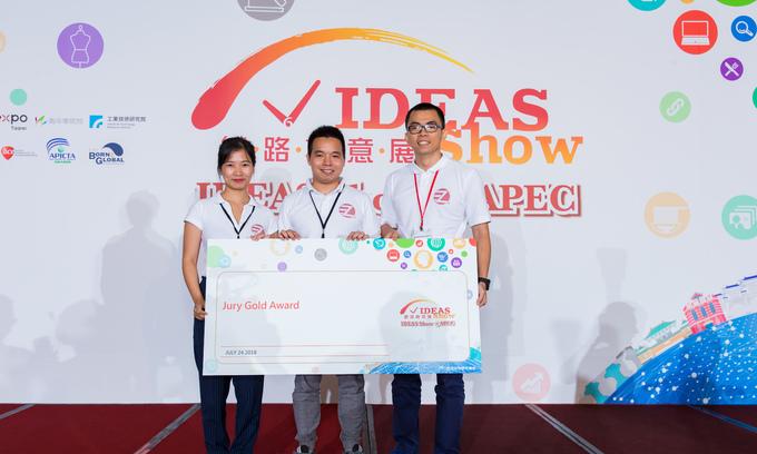 Vietnamese startup EzQ wins two prizes at APEC meet
