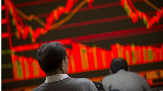 China loses spot as world's No.2 stock market: Bloomberg