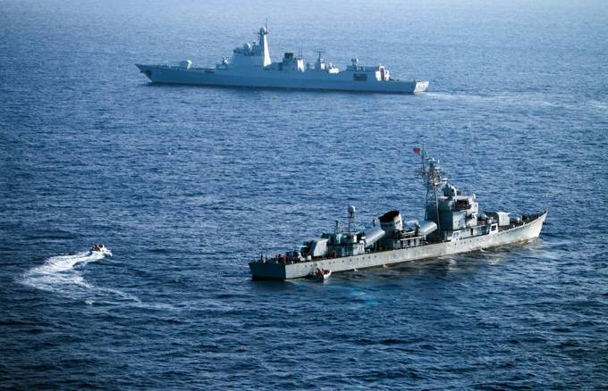 China, SE Asian states hold simulated naval drill