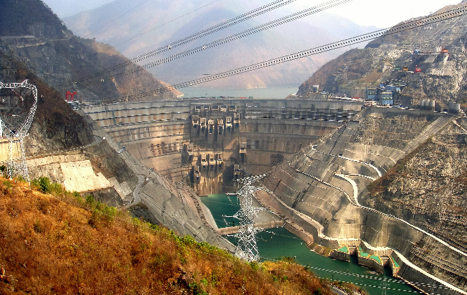 The Xiaowan Dam on the Lancang River in Yunnan, China. Photo by Engineering at Cambridge