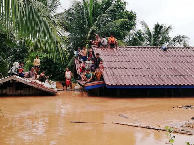 Landmine risk for thousands displaced by floods in Laos