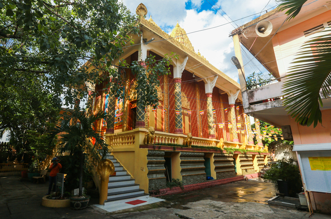 A Khmer pagoda exudes peace in Saigon - 2