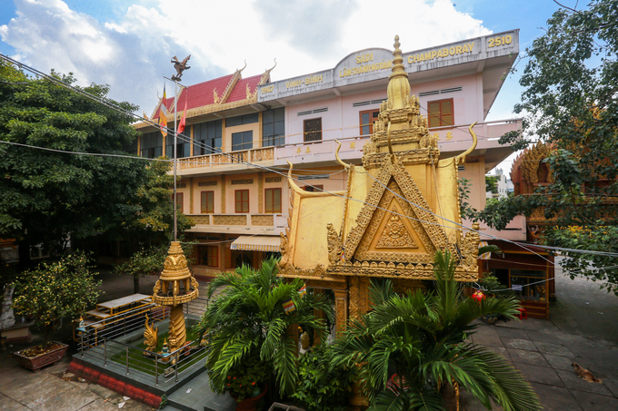 A Khmer pagoda exudes peace in Saigon