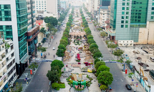 Saigon's first pedestrian street to get major makeover
