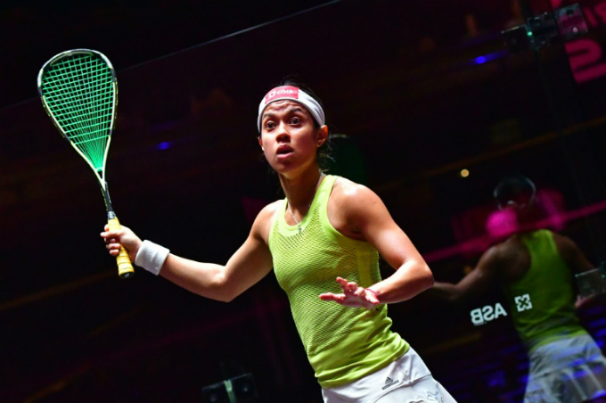 Squash legend: Nicol David of Malaysia is going for an incredible fifth Asian Games individual gold in Jakarta. Photo by AFP/Giuseppe Cacace