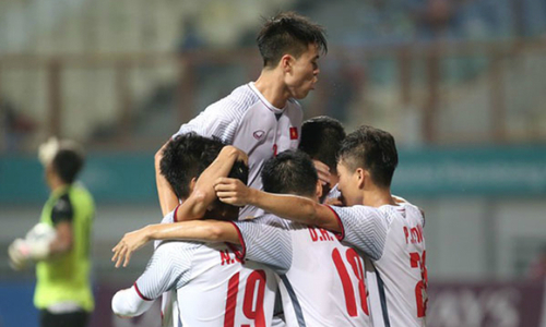 Vietnam in last 16 with facile 2-0 win over Nepal at Asian Games