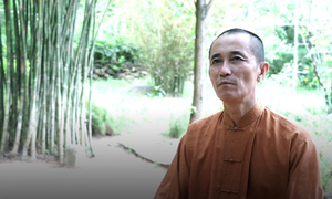 The Bamboo Monk protects national treasures