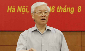 Corruption dwindling in Vietnam, asserts Party leader