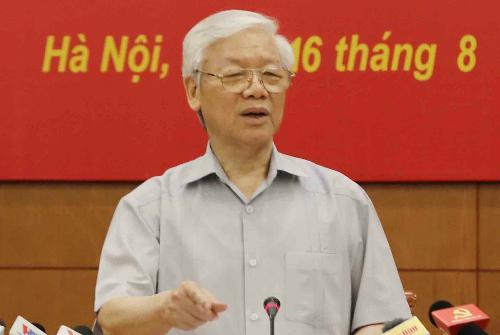 Corruption dwindling in Vietnam, asserts Party leader