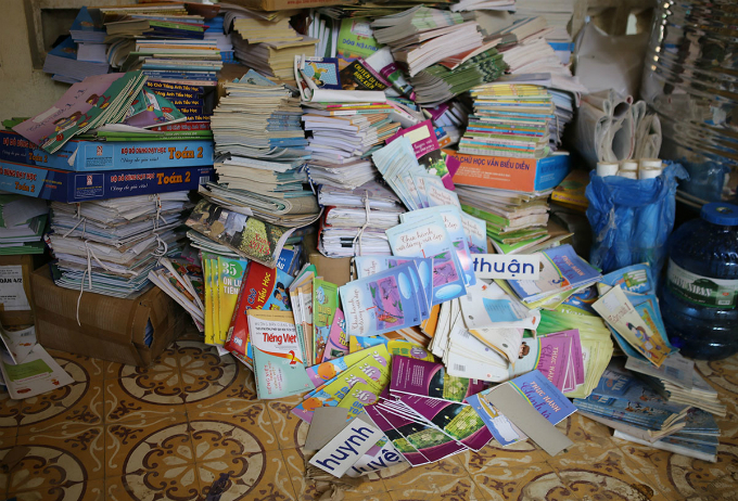 Luckily, piles of books were moved to the second floor before the floods hit the school.Local authorities said they have dispatched around 1,000 police officers, army recruits and volunteers to flood-prone areas to help local residents overcome the aftermath of the floods.