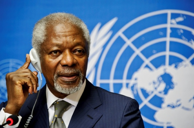 Former UN chief and Nobel laureate Kofi Annan dies