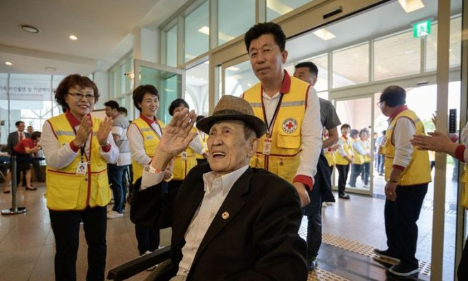 S. Korean families gather on eve of rare reunion