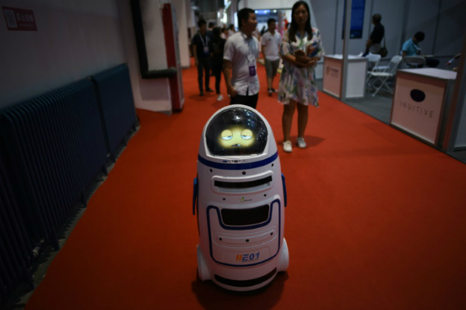 Outside Chinas factories, robots are becoming a more visible presence, deployed in restaurants and banks and even delivering parcels