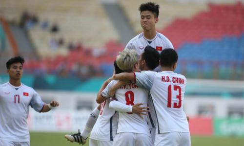 Vietnam beats Japan, tops group in Asiad 2018