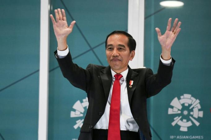 Indonesian President Joko Widodo declared the Games open.