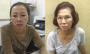Saigon police nab two women picking pockets of foreign tourists