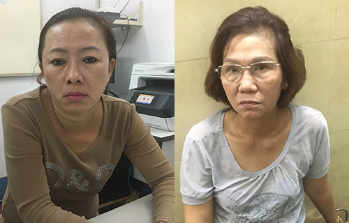 Saigon police nab two women picking pockets of foreign tourists