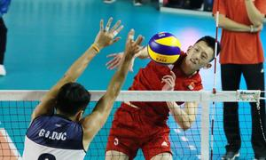 Vietnam stuns China in men's volleyball at Asian Games 2018