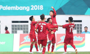 Men's football demands peak Asiad 2018 ad prices in Vietnam