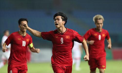 Late goal propels Vietnam to first ever Asiad quarterfinal
