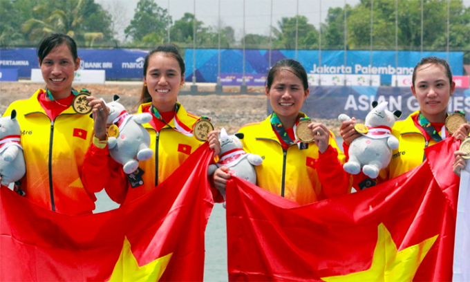 Vietnam rows to first Asiad 2018 gold