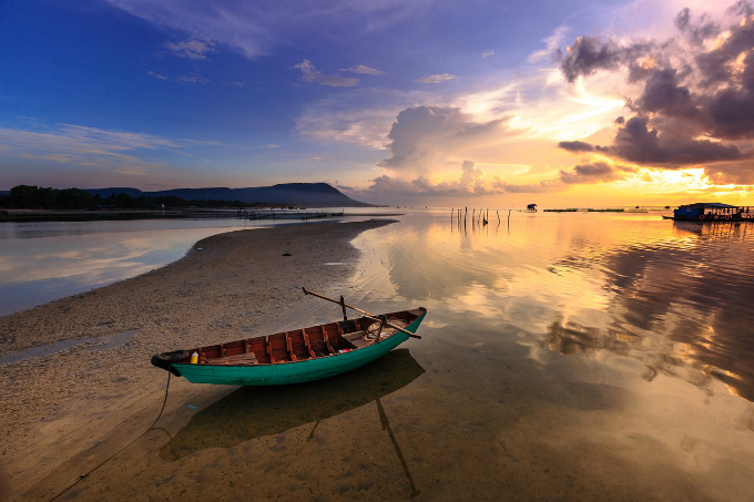 Phu Quoc was namedone of the best place in the world to watch the sunset.