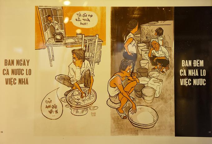 Hanoi cartoon exhibition revisits subsidised humor - 1