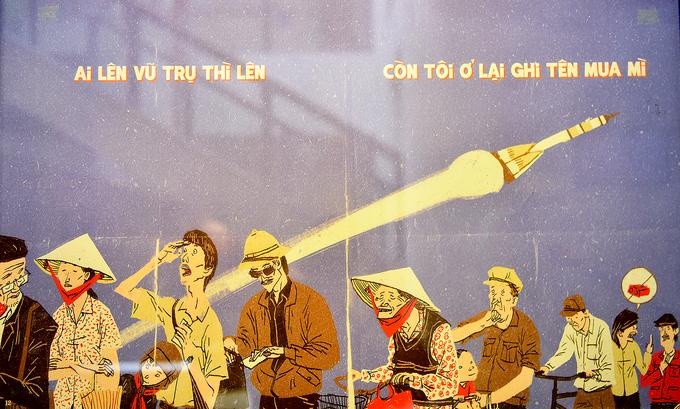Hanoi cartoon exhibition revisits subsidised humor - 3
