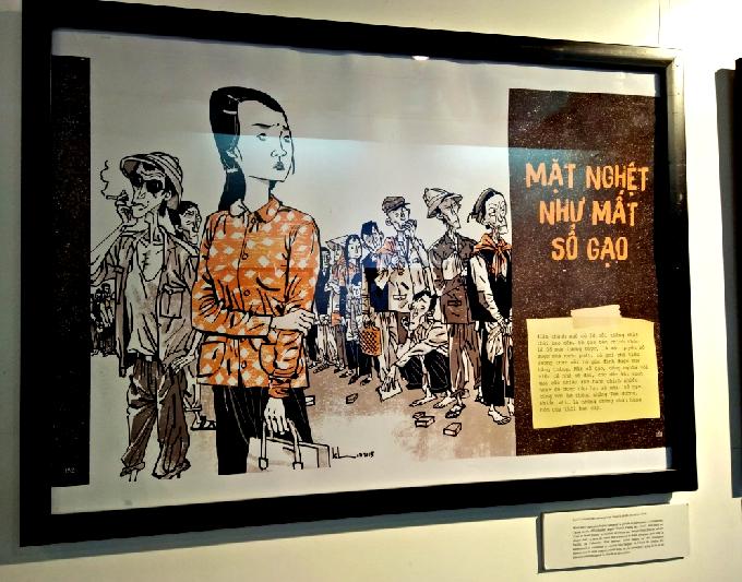 Hanoi cartoon exhibition revisits subsidised humor - 4