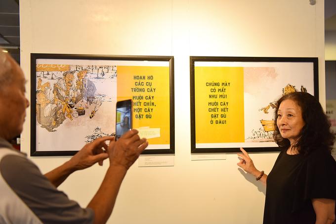 Hanoi cartoon exhibition revisits subsidised humor - 5