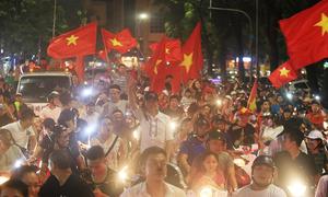 Hanoi erupts as Vietnam scripts football history