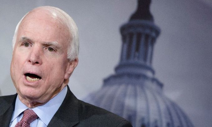 Veteran US senator McCain halts cancer treatment