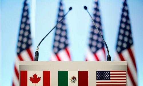 Trump says Mexico trade deal near; NAFTA hurdles seen easing