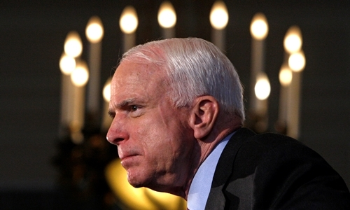 John McCain: former foe turned ally