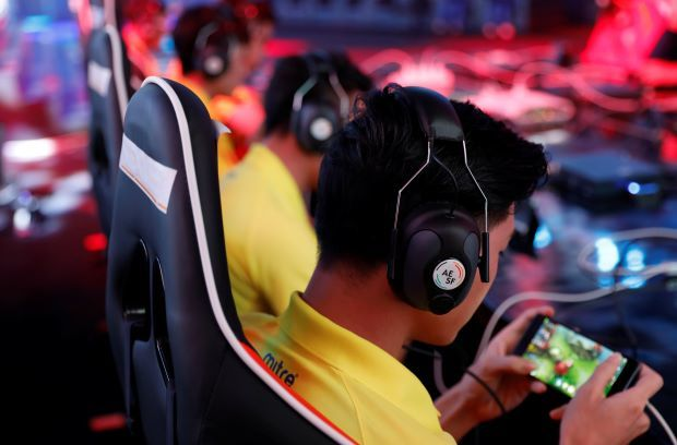 China Arena of Valor champ as esports make Asian Games debut