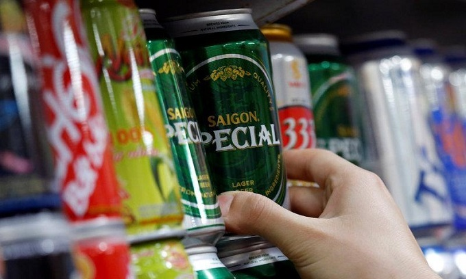 Vietnamese men world's top alcohol consumers: report