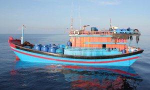 Malaysia crackdown on illegal fishing nets 36 Vietnamese men