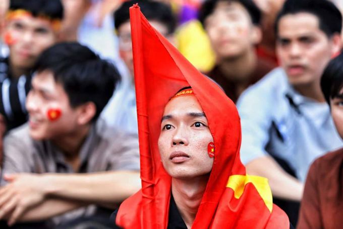 And no words to describe this feeling right now as Vietnam lost 0-3 to South Korea.