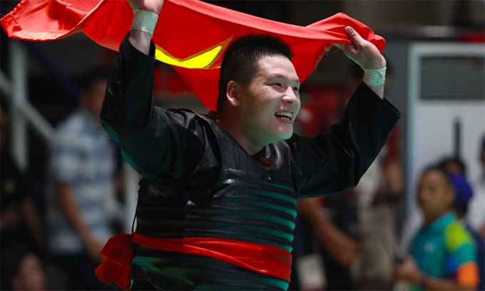 Vietnam wins 2 golds in pencak silat at Asian Games