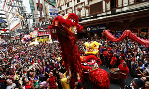 Tet, Lunar New Year, an official holiday in California