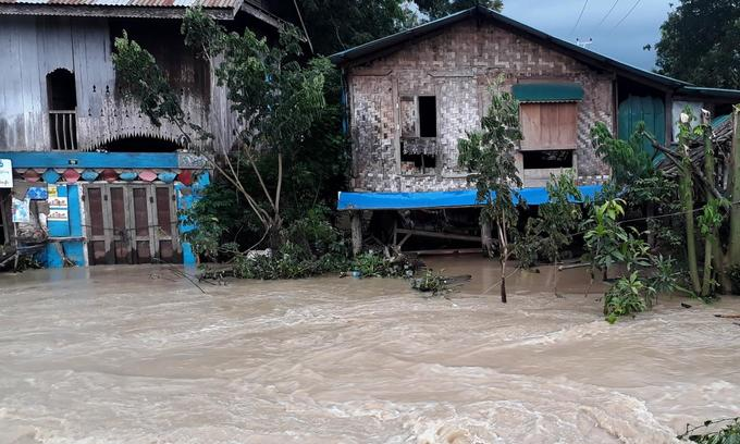 Myanmar dam breach floods 85 villages, drives thousands from homes