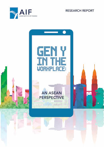 Cover of AIF Research Report - Gen Y in the Workplace: an ASEAN perspective