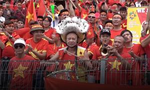 Hanoi and Saigon turn red, yet again