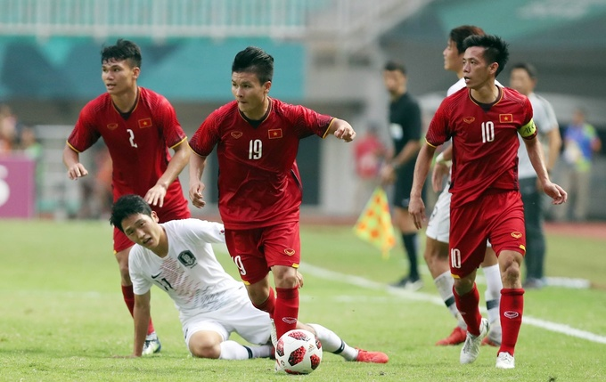 Overseas Vietnamese upbeat about Vietnam's last Asian Games match