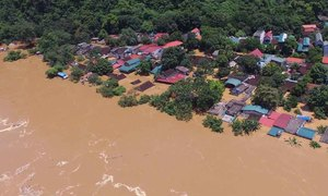 Dam discharge worsens flooding havoc in central Vietnam province