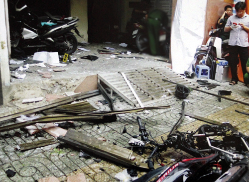Seven more detained in Saigon police station blast case