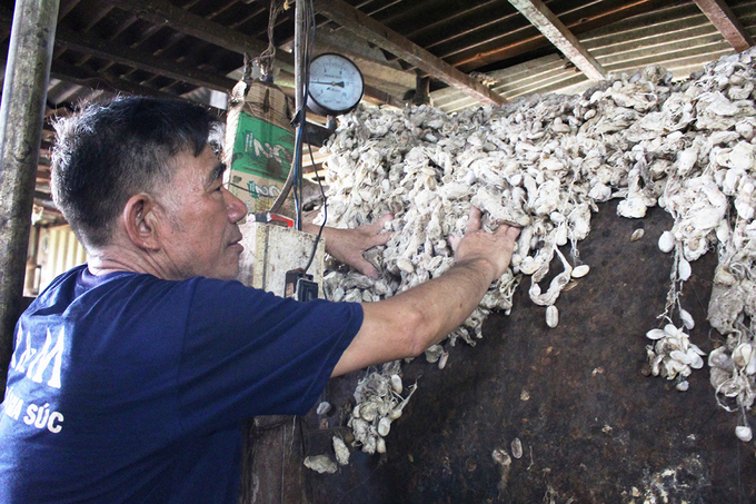 Cuongs silkworm reeling facility creates many employment opportunities for locals in the small town of Nam Ban.