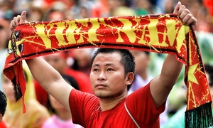 Vietnamese fans fully back their team, no matter what