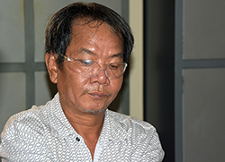 Huynh Truong Ca, 47, is being held at a police station in Dong Thap Province for carrying out anti-state propaganda.